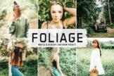 Last preview image of Foliage Mobile & Desktop Lightroom Presets
