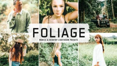 Foliage Mobile & Desktop Lightroom Presets