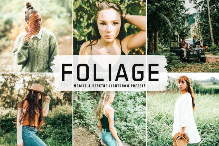 Preview image of Foliage Mobile & Desktop Lightroom Presets
