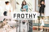 Last preview image of Frothy Mobile & Desktop Lightroom Presets