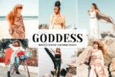 Last preview image of Goddess Mobile & Desktop Lightroom Presets