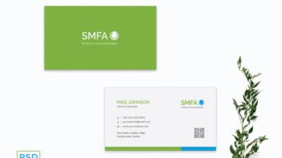 Green Modern Business Card Template V2