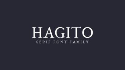 Hagito Serif Font Family