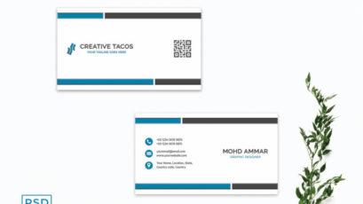 Innovative Business Card Template V3