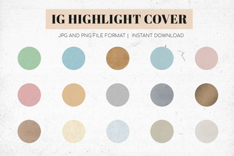 Preview image of Instagram Highlight Covers V1