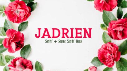 Jadrien Serif and Sans Duo Font