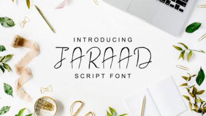 Jaraad Script Font