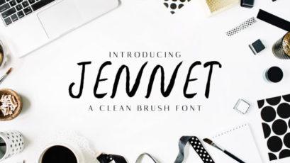 Jennet Brush Font Family