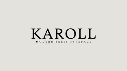 Karoll Modern Serif Font Family