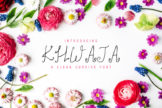 Last preview image of Khwaja Script Typeface