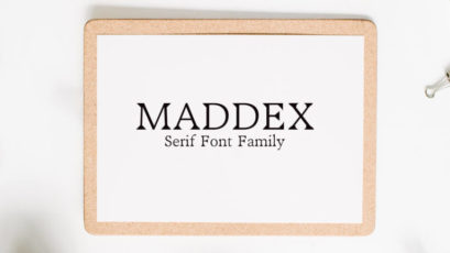 Maddex Serif Font Family
