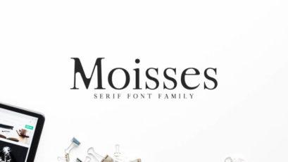 Moisses Font Family Pack