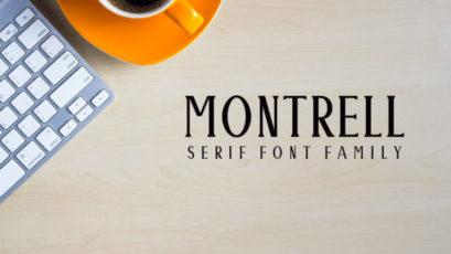 Montrell Serif Typeface