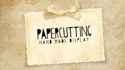 Papercutting Display Font Family