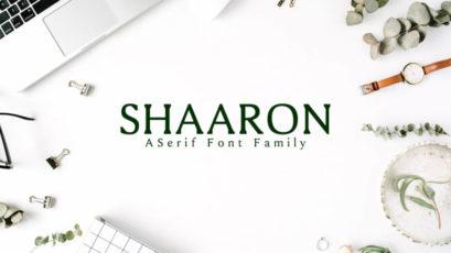 Shaaron Serif Font Family