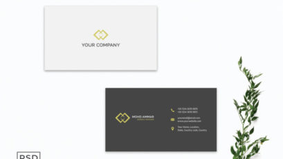Simple Business Card Template V3