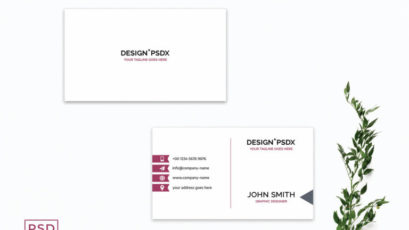 Simple Creative Business Card Template