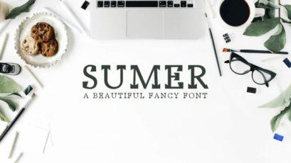 Sumer Fancy Font