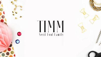 Timm Serif Typeface