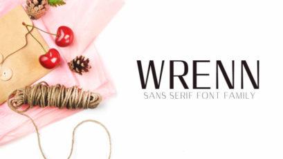 Wrenn Sans Serif 6 Font Family