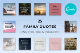 Last preview image of 25 Family Quotes