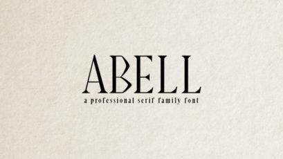 Abell Serif Font Family