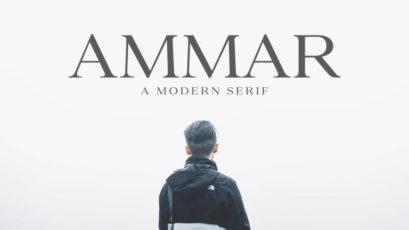 Ammar Modern Serif Typeface