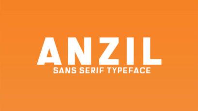 Anzil Sans Serif Typeface