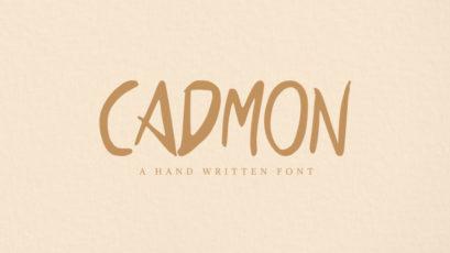 Cadmon Handwritten Font