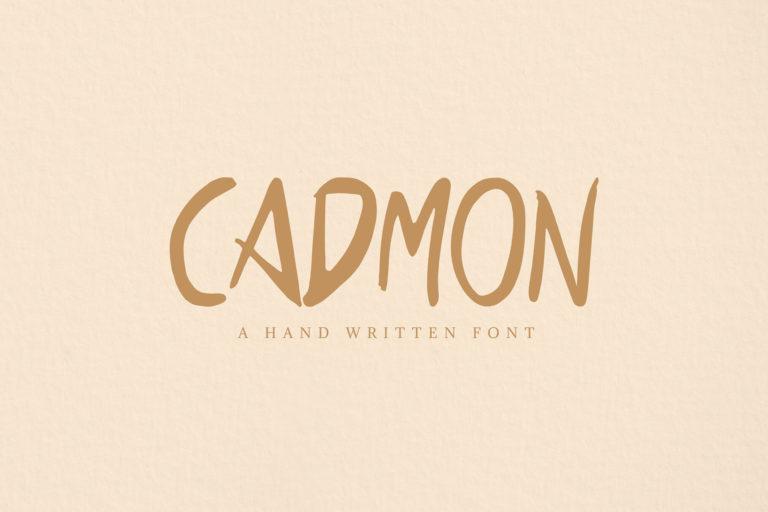 Preview image of Cadmon Handwritten Font