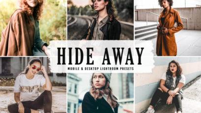 Hide Away Mobile & Desktop Lightroom Presets