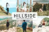 Last preview image of Hillside Mobile & Desktop Lightroom Presets
