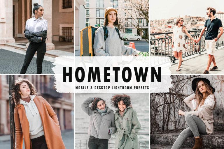 Preview image of Hometown Mobile & Desktop Lightroom Presets