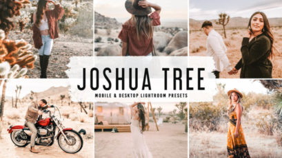 Joshua Tree Mobile & Desktop Lightroom Presets