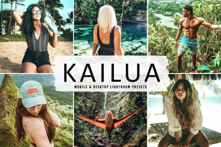 Preview image of Kailua Mobile & Desktop Lightroom Presets