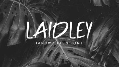Laidley Handwritten Font