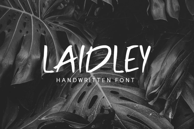 Preview image of Laidley Handwritten Font