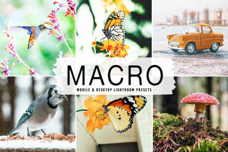 Preview image of Macro Mobile & Desktop Lightroom Presets