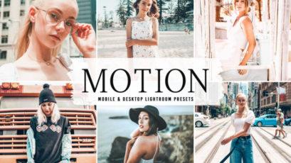 Motion Mobile & Desktop Lightroom Presets