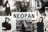 Last preview image of Neopan Mobile & Desktop Lightroom Presets
