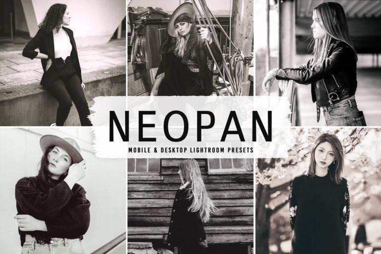 Preview image of Neopan Mobile & Desktop Lightroom Presets