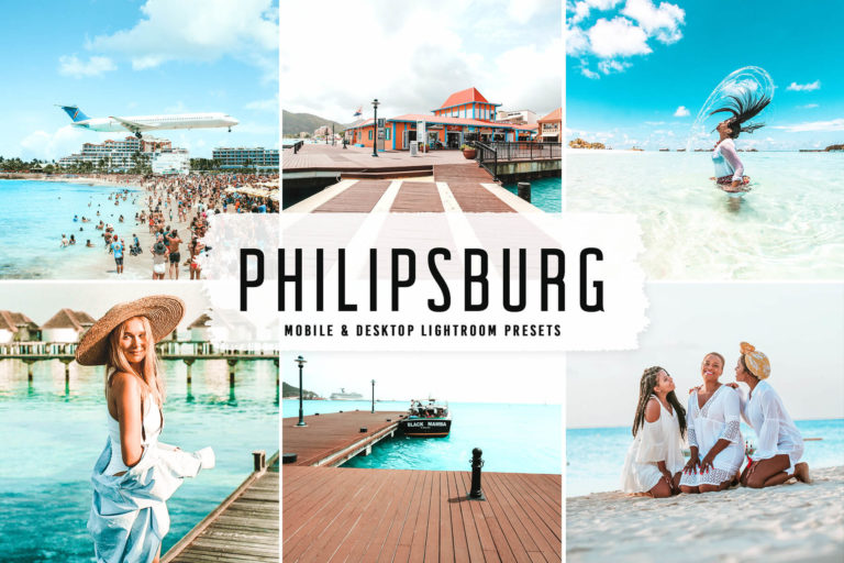 Preview image of Philipsburg Mobile & Desktop Lightroom Presets