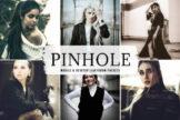 Last preview image of Pinhole Mobile & Desktop Lightroom Presets