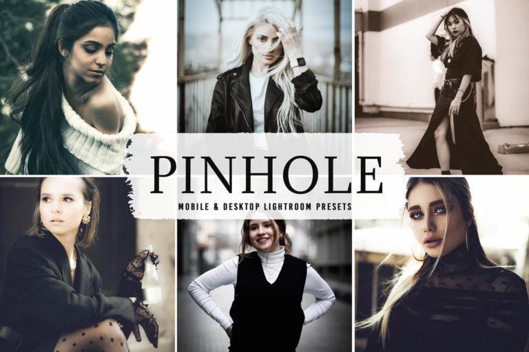 Preview image of Pinhole Mobile & Desktop Lightroom Presets