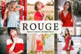 Last preview image of Rouge Mobile & Desktop Lightroom Presets
