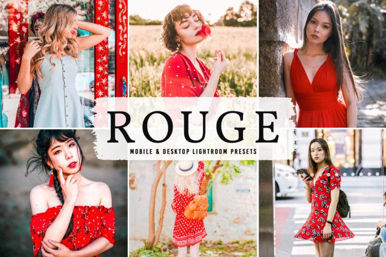 Preview image of Rouge Mobile & Desktop Lightroom Presets
