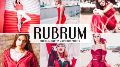 Rubrum Mobile & Desktop Lightroom Presets