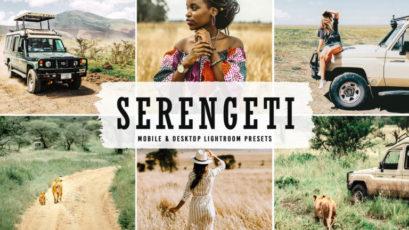 Serengeti Mobile & Desktop Lightroom Presets