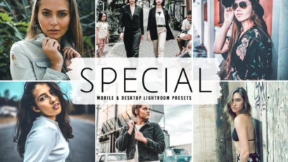 Special Mobile & Desktop Lightroom Presets