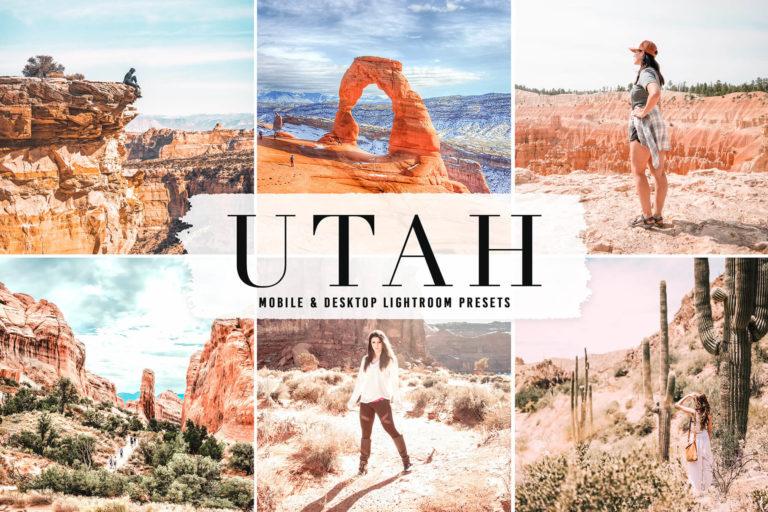 Preview image of Utah Mobile & Desktop Lightroom Presets